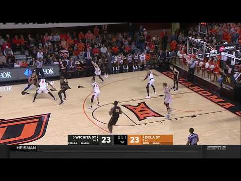 Oklahoma State vs Wichita State Men's Basketball Highlights