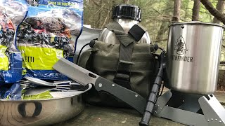 FIRST UNBOXING of Poor Man's Preparing PREP Subscription Box - Bushcraft Cooking Kit