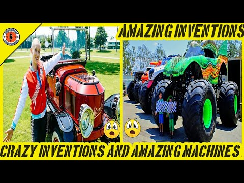 Amazing Inventions and Ingenious Machines at an Insane Level // Fantastic Five // Crazy Machines Your Videos on VIRAL CHOP VIDEOS