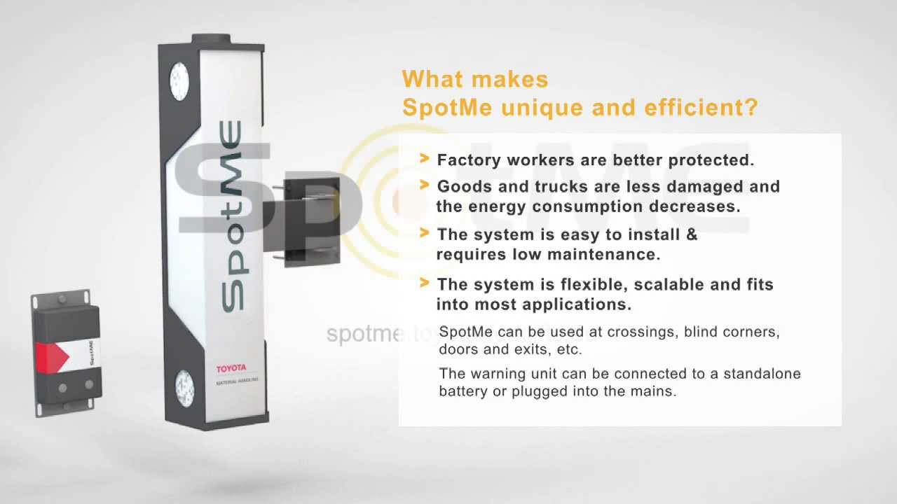SpotMe - Warning System for a Safer Workplace