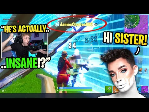 I spectated JAMES CHARLES and couldn't BELIEVE how good he was... (shocking) thumbnail