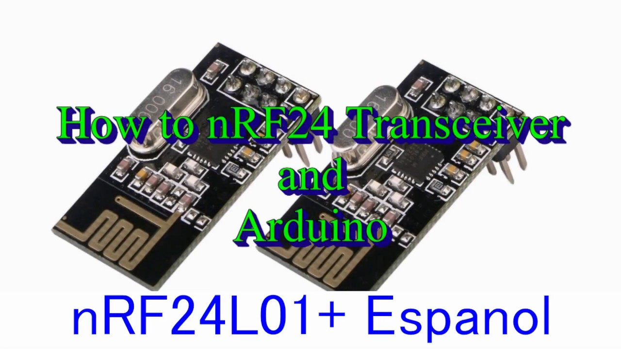 Nrf24l01 2 4ghz Transceptor Inalámbrico Para Arduino