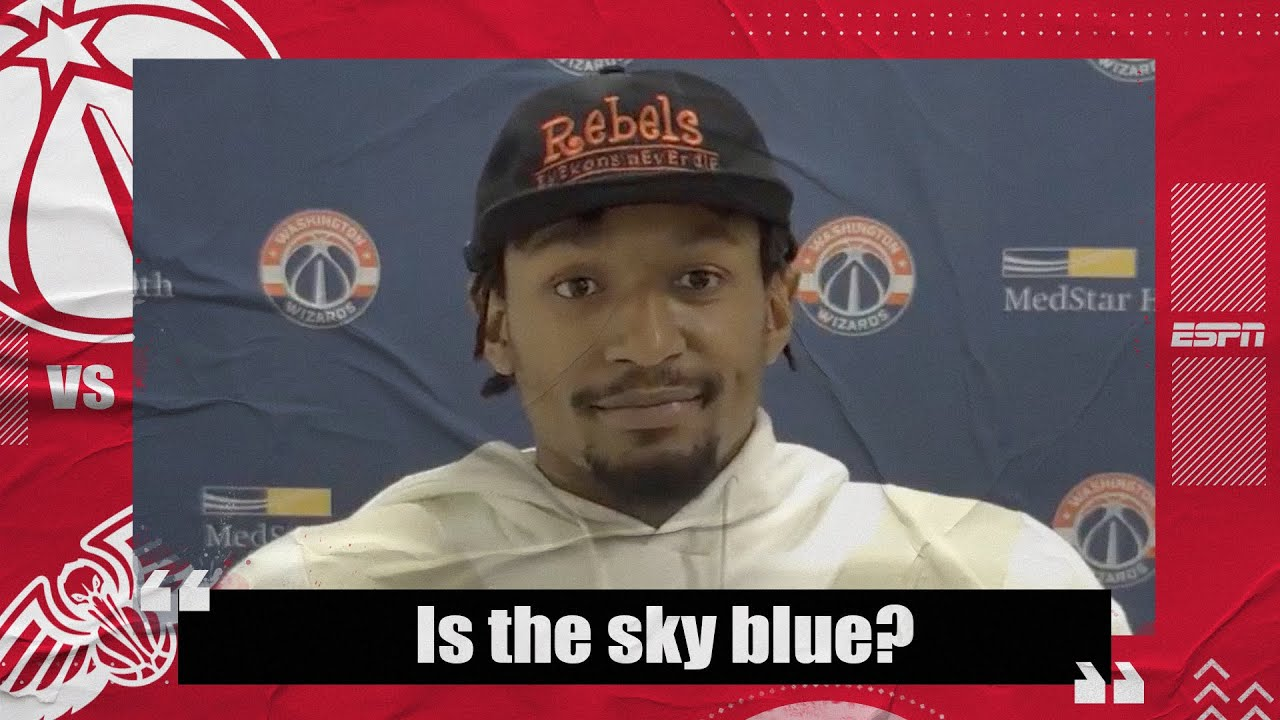 Download 'Is the sky blue?' - Bradley Beal's answers whether he is frustrated | NBA on ESPN