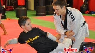 Team Cook Taekwondo Seminar in Miami  Techniques