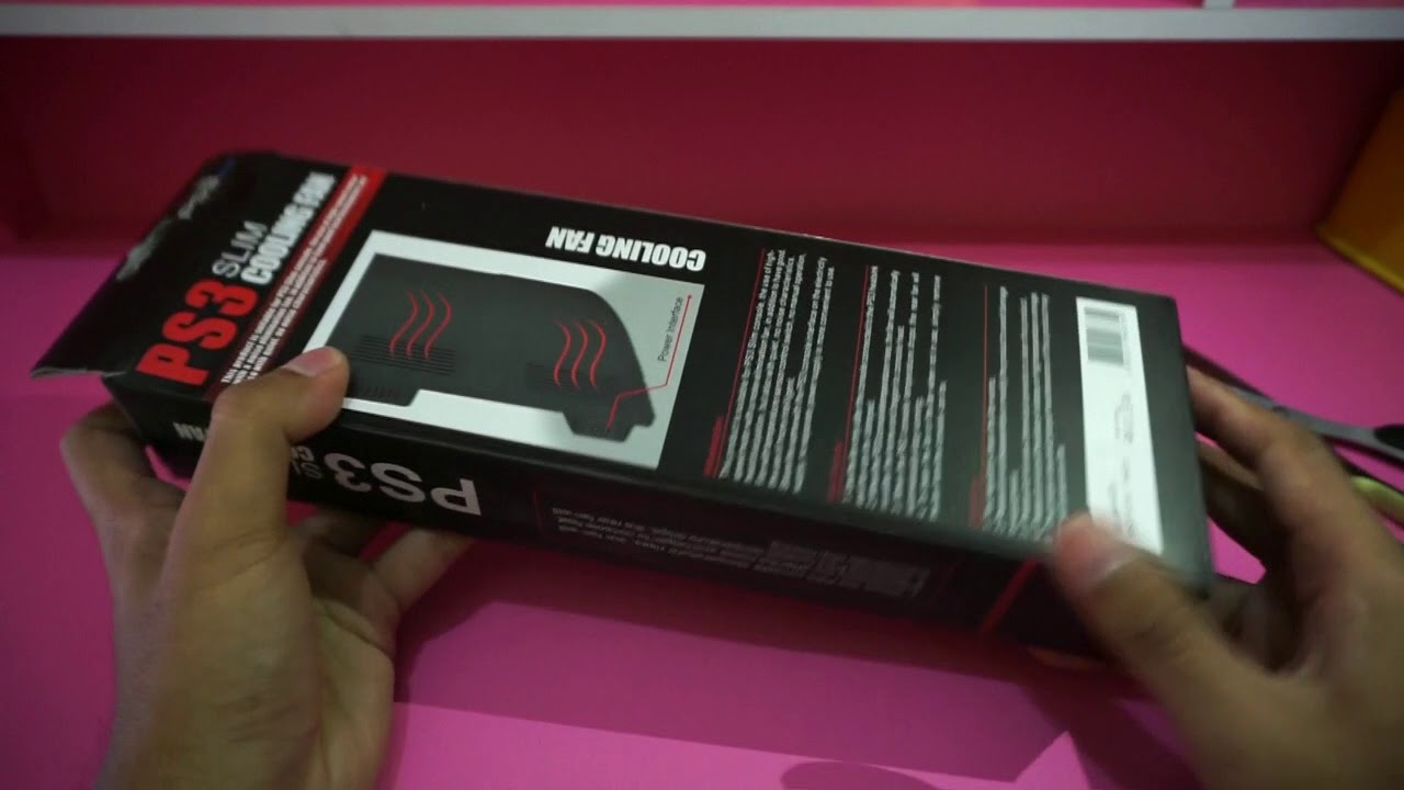 Unboxing Dan Review Cooling Fan Kipas Pedingin Ps3 Slim Youtube