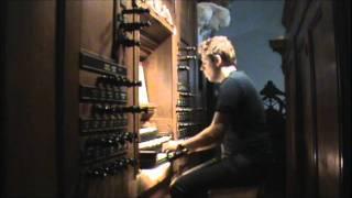 """""""Nader mijn God bij U"""" gespeeld door Kees Verhoek in Bolsward"""