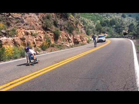 Skateboarding Jerome, Mingus, Oak Creek Canyon, Story