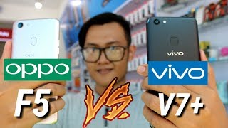 OPPO F5 vs VIVO V7+ indonesia  - REFRY REVIEW