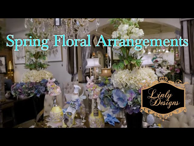 Linly Designs: 2021 Spring Floral Arrangements