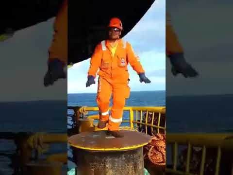 Offshore iban warrior dance
