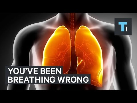 The correct way to breathe in