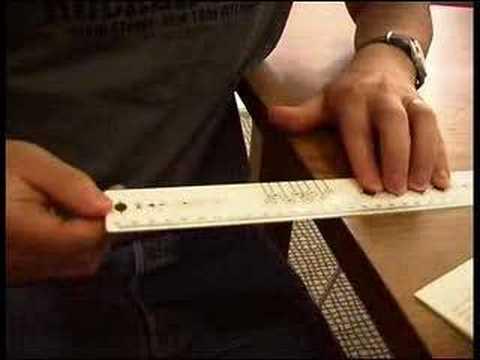 Musical ruler