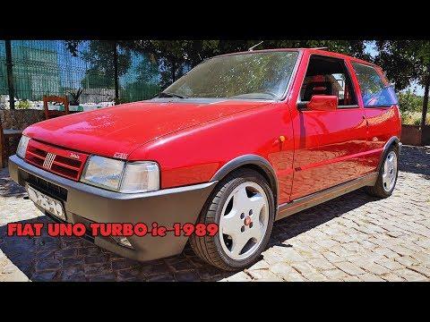 ANDEI NUM FIAT UNO TURBO ie 1989 COM MAIS DE 200cv