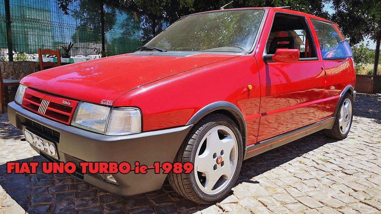 Andei Num Fiat Uno Turbo Ie 1989 Com Mais De 200cv Youtube