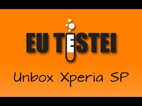 Smartphone Sony Xperia SP C5303 - Unboxing Brasil