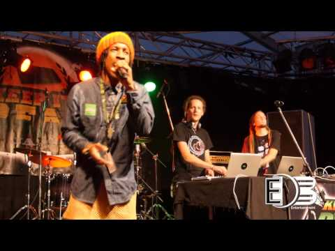 eXile di brave & MacaDamya Sound at Keep It Real Jam 2014, Germany