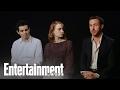 La La Land: Emma Stone, Ryan Gosling & Damien Chazelle On Balancing The Roles | Entertainment Weekly video & mp3