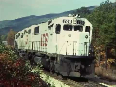 The Kansas City Southern and Katy in the 1980's