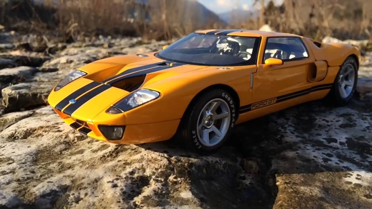 Ford Gt 2003 1 18 Scale Beanstalk Miniatures