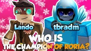 WHO IS THE CHAMPION OF RORIA!? / Pokemon Brick Bronze / Roblox