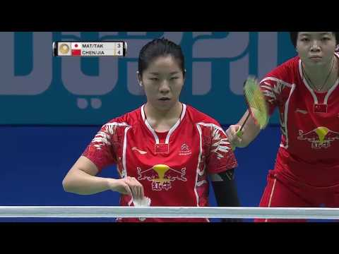 Dubai World Superseries Finals 2016 | Badminton F M1-WD | Mat/Tak vs Chen/Jia