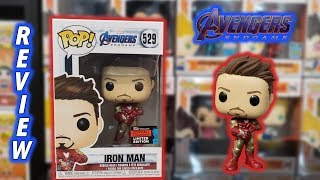 Avengers Endgame Iron Man With Gauntlet Nycc Exclusive Funko Pop Unboxing & Review!