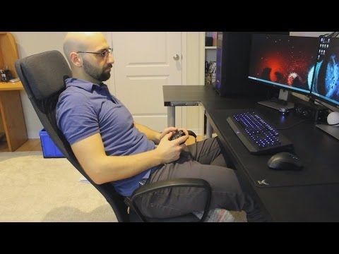 Office Gaming Chair Ikea Markus Youtube