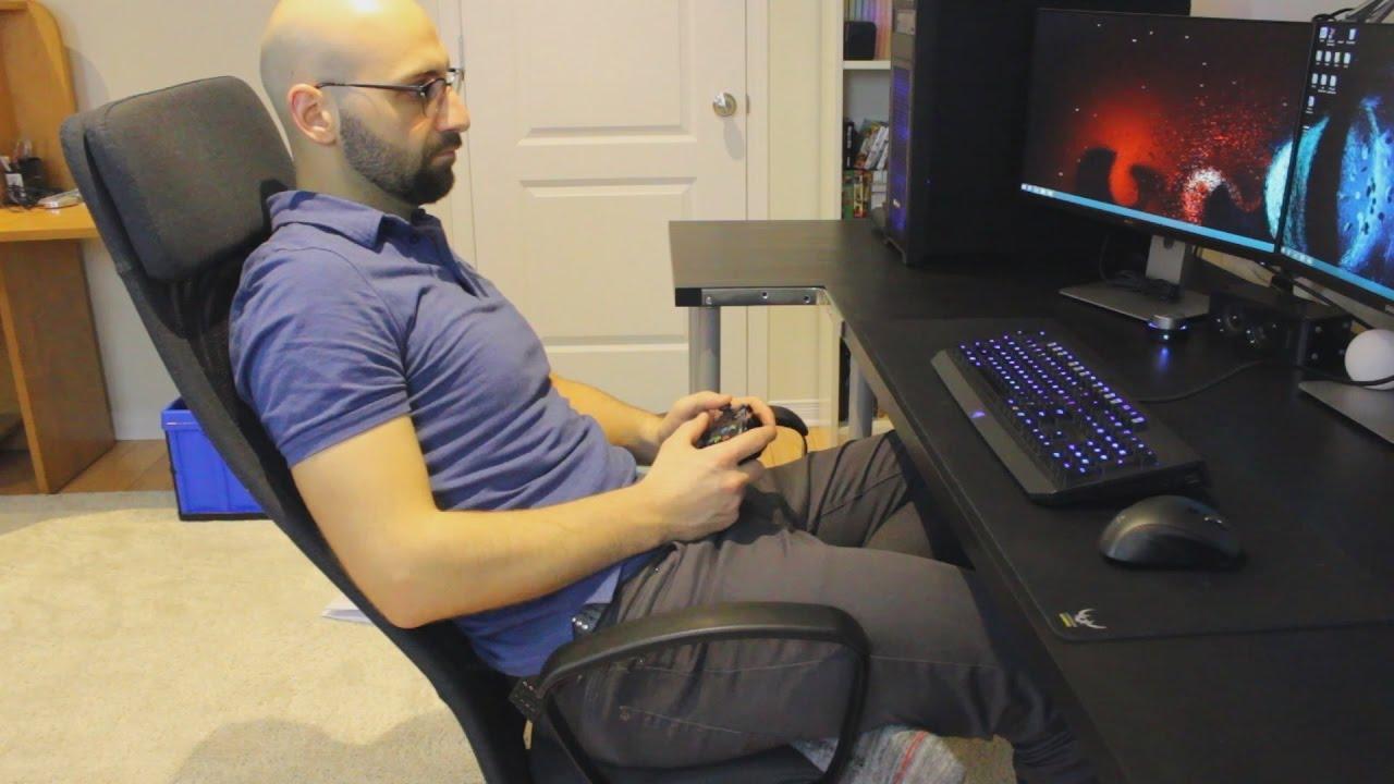 Baby Stoel Ikea : Office gaming chair ikea markus youtube