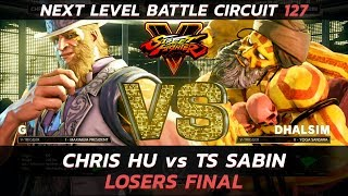 SFVAE ▷ Losers Final ▷ Chris Hu (G) vs Sabin (Dhalsim) ▷ NLBC 127