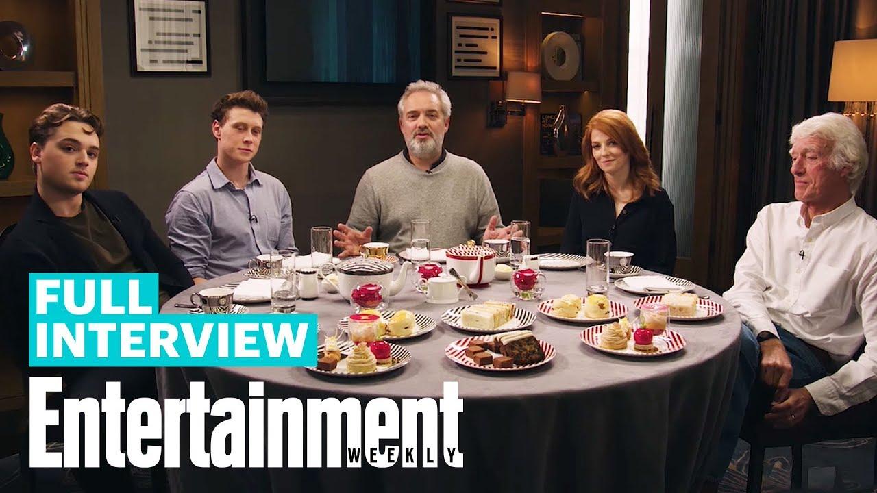 '1917' Cast & Creators Discuss Making The Ambitious One-Shot Film | Entertainment Week