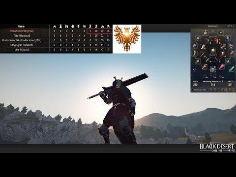 BDO 61 warrior 545 gs - 1v3 node war 111 kills