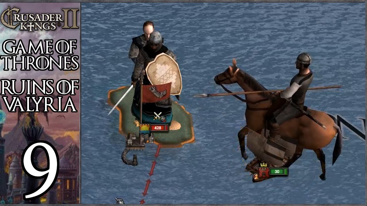 CK2 Game of Thrones: Ruins of Valyria #9 - Leaving Westeros (Series
