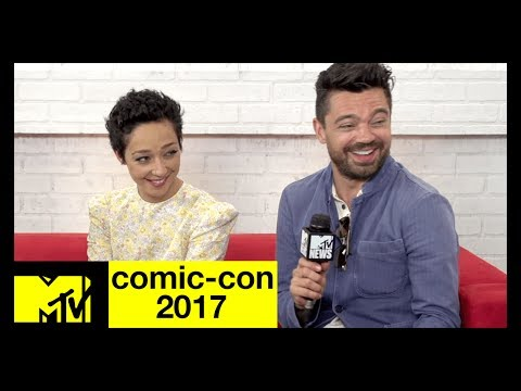'Preacher' Cast on Season 3 & a Vaguely Sexual Handshake | Comic-Con 2017 | MTV