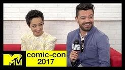 'Preacher' Cast on Season 3 & a Vaguely Sexual Handshake | Comic-Con 2017 | MTV