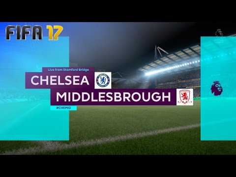 FIFA 17 - Chelsea vs. Middlesbrough FC @ Stamford Bridge