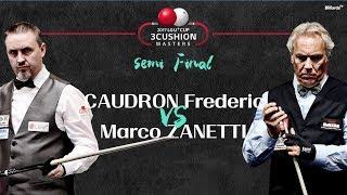[당구-Billiard] 3 Cushion_CAUDRON Frederic v ZANETTI Marco_2017 LG U+ Cup Masters_SF#2_Full_1