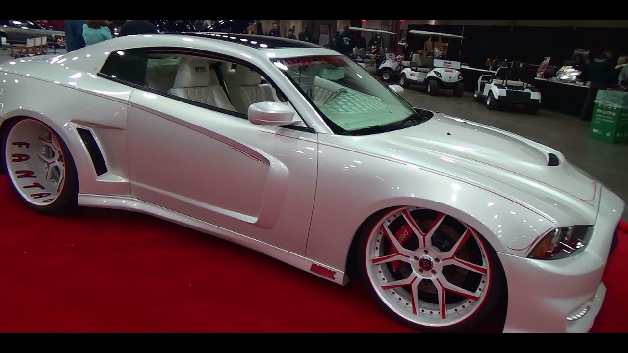 2016 Dodge Charger 2 Door >> 2013 Dodge Charger Two Door Custom Detroit Autorama 2014 Youtube
