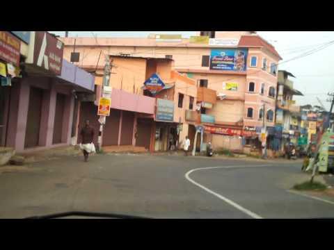 Mallappally Town, Pathanamthitta, Kerala India