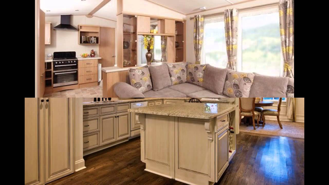 Mobile Home Kitchen Remodel Repainting Cabinets Remodeling Ideas Youtube