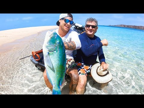 YBS Lifestyle Ep 40 - Shallow Water Spearfishing | Clearest Remote Island Creek