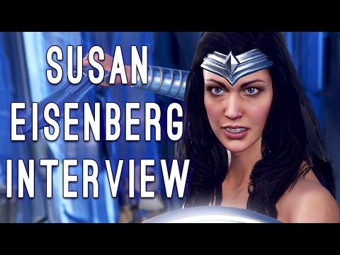 Injustice 2 Interview w/Susan Eisenberg - The Voice of WONDER WOMAN in Injustice & Justice League