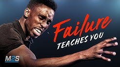 FAILURE TEACHES YOU - Best Motivational Video for Students & Success in Life