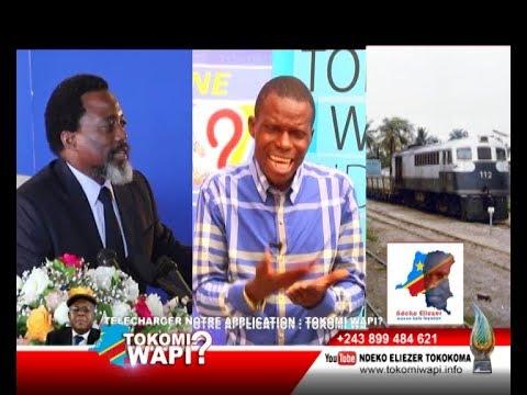 TOKOMI WAPI 27 01 2018 RAIL YA CONGO EKEYI AFRIQUE DU SUD?