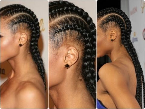 Simple and Easy: Cornrow Tutorial ♡