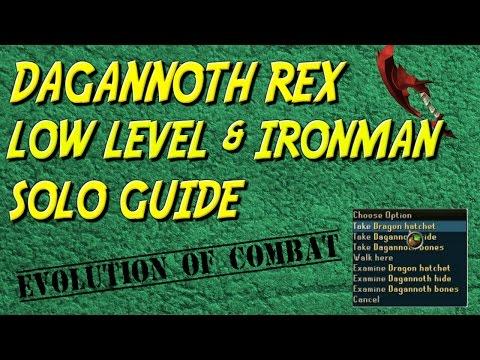 Dagannoth Rex Comprehensive Solo/Safe Spotting Guide RS3 2017