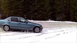 Bmw e36 320i snow drift