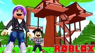 NOTRE MAISON DANS UN ARBRE ! | Roblox Adopt Me !