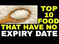 10 food products that have no expiration date