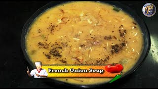 French Onion Soup-a Delicious Starter By F3 Bachelors Cooking