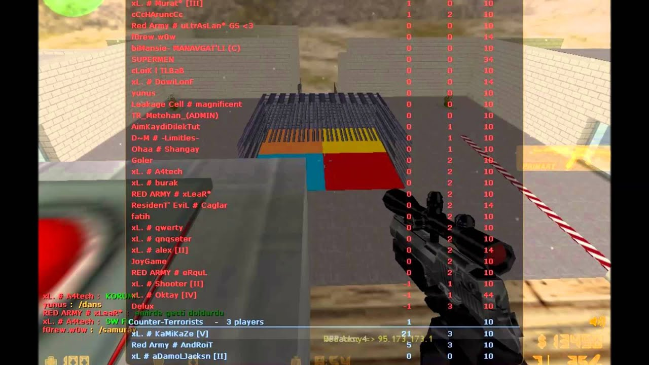 Counter strike 1.6 red army